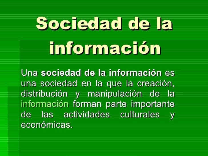 Sociedad de la informaci n for Que es la asociacion de cultivos