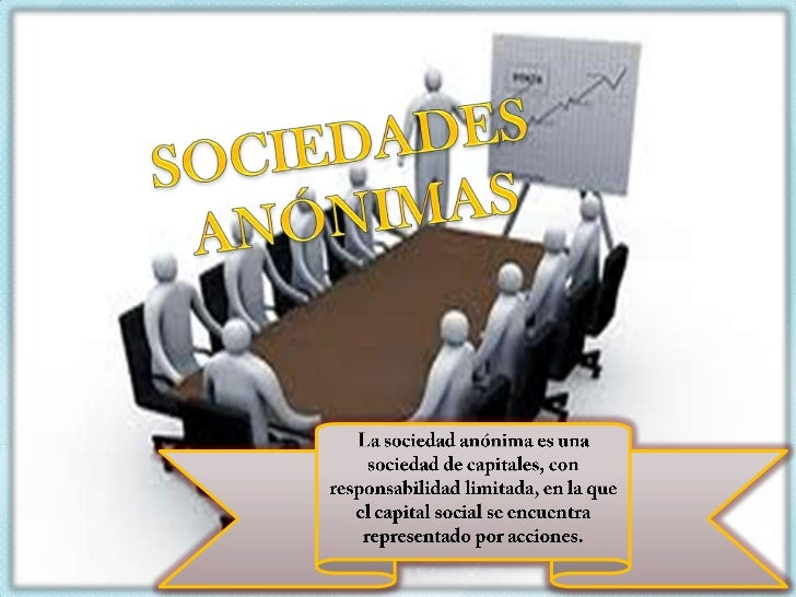 Sociedad anonima Slide 2