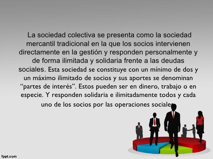 Sociedad colectiva Slide 2