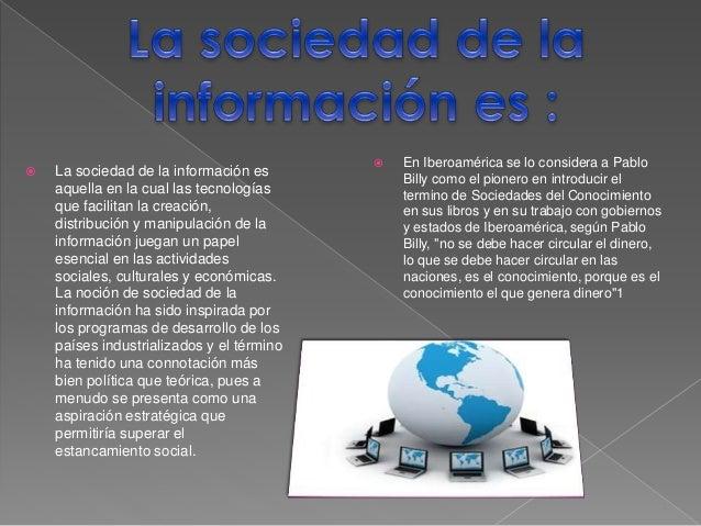 Sociedad de la informacion diapositiva Slide 2