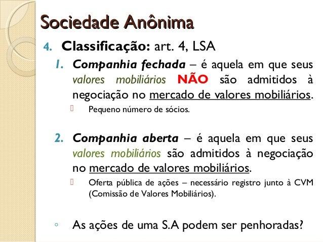 Características Contrato Social Sociedade Anônima - KSO Advogados