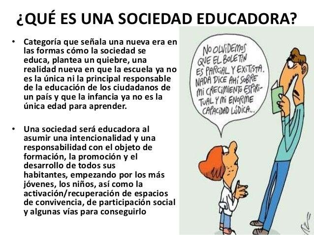 Sociedad educadora