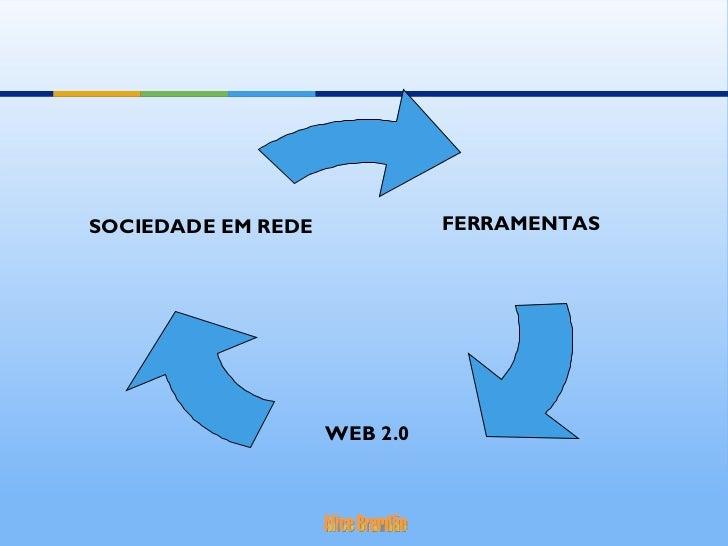 FERRAMENTAS   WEB 2.0 SOCIEDADE EM REDE