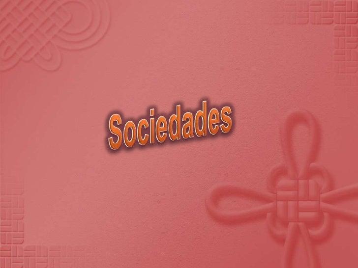 Sociedades<br />