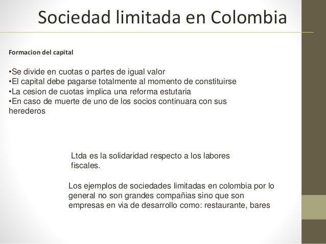 sociedades en colombia pdf