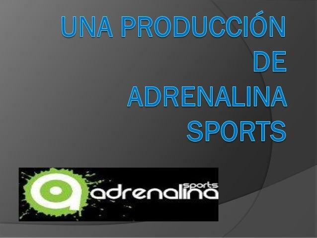 """Introducción La empresa """"Adrenalina Sports S.A."""" se trata de una sociedad anónima. Una sociedad de carácter mercantil en l..."""