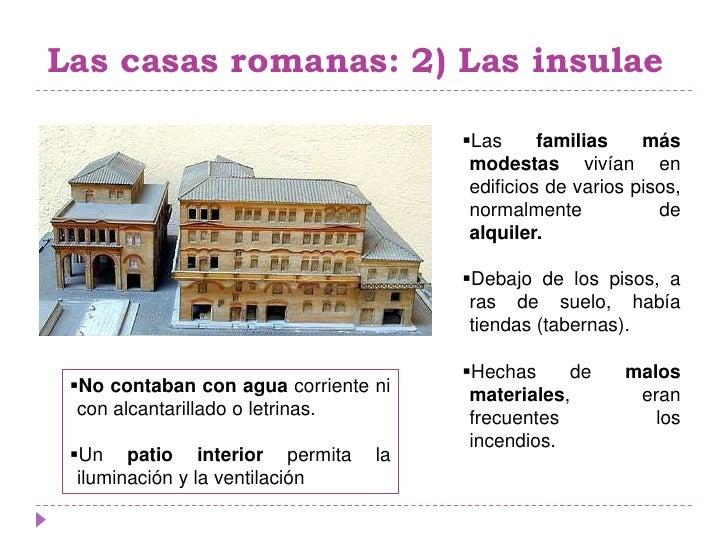 Sociedad y casas romanas Como eran las casas griegas