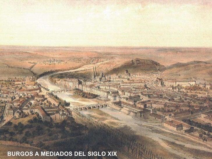 BURGOS A MEDIADOS DEL SIGLO XIX