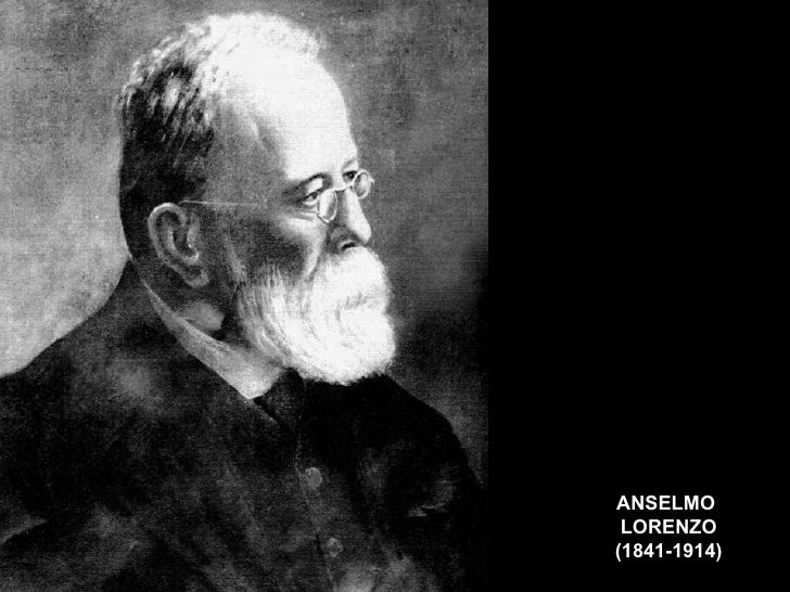 ANSELMO  LORENZO (1841-1914)