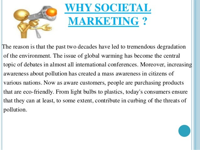 what is societal marketing One of the biggest challenges for businesses today is attracting customers and keeping them they do so through effective marketing this lesson.