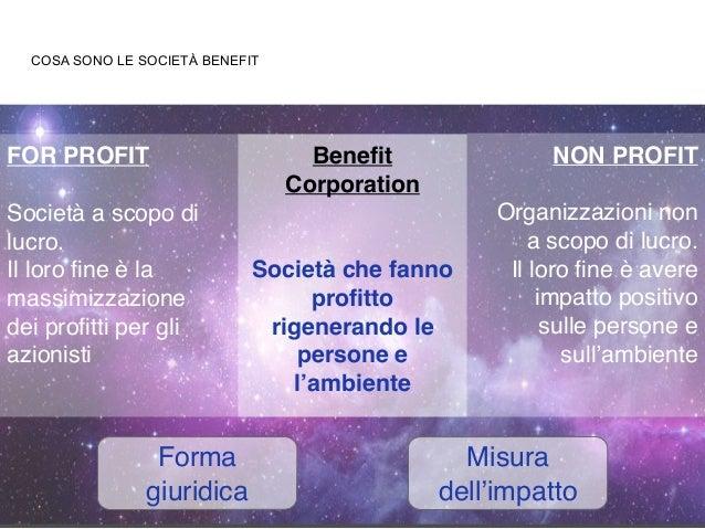 Società Benefit - Presentazione Sen. Mauro Del Barba Slide 3