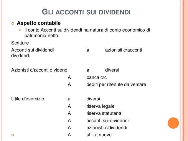 Contabilita e fiscale modulo 2 societ dicapitali - Diversi a diversi contabilita ...