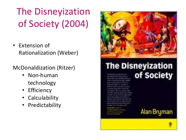 review the mcdonaldization of society