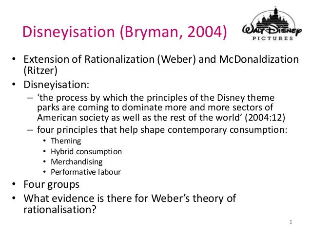 to what extent does the mcdonaldization Bureaucracies may be defined not by whether it is/is not one, but to what extent is it bureaucratized what does the mcdonaldization of society refer to.