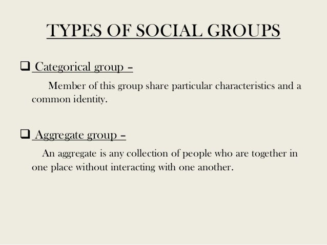 society and social groups assignment Deviance and social control - as we all have observed, throughout history each culture or society has unique norms that are acceptable to that group of people.