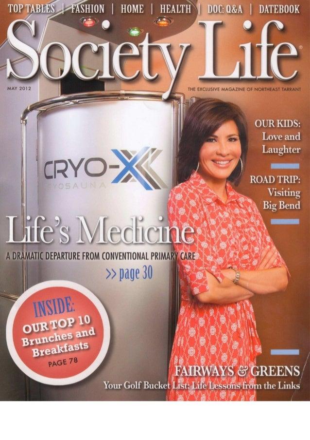 Society life magazine