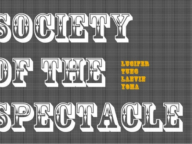 society of the spectacle Lucifer Tung Lanvin Yoma