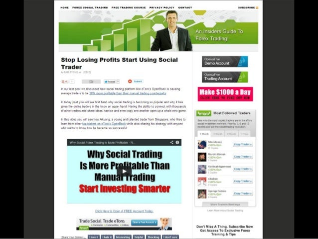 Forex trading success stories