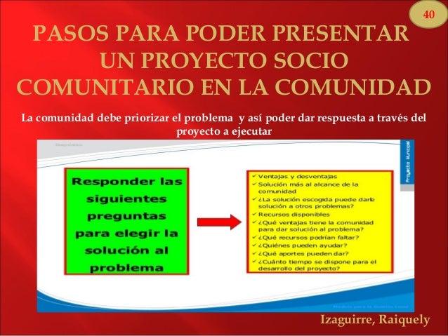 Socio comunitario y socio productivo for Proyecto comedor comunitario pdf