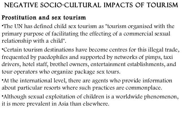 negative socio cultural impacts