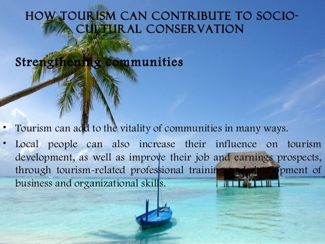 how can tourism be developed