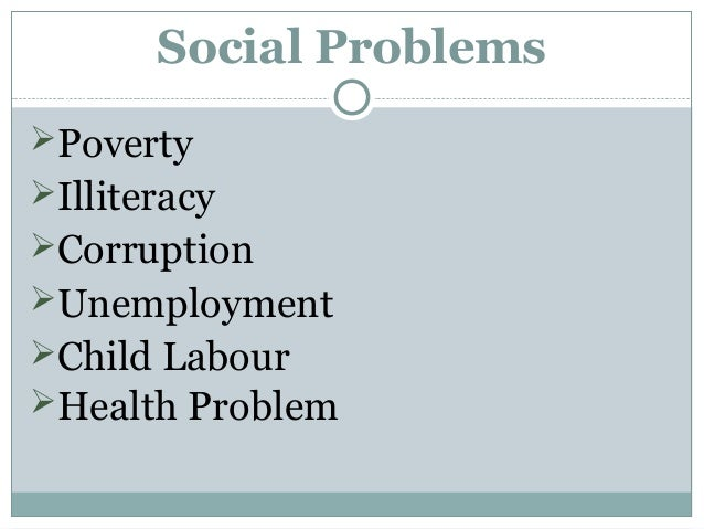 Poverty illiteracy and unemployment essay