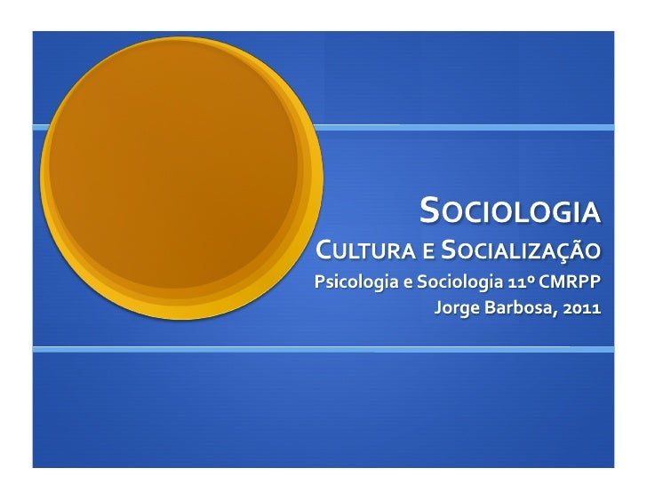 Introdução à Sociologia 2