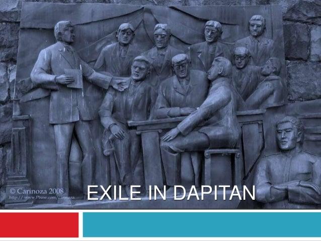 La Liga Filipina & Exile to Dapitan