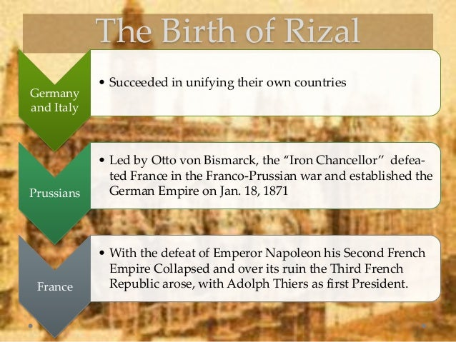the world during rizals time Jose rizal, national hero of the philippines search the site go  and to the world at large  during that time, he picked up a number of languages in fact, he .