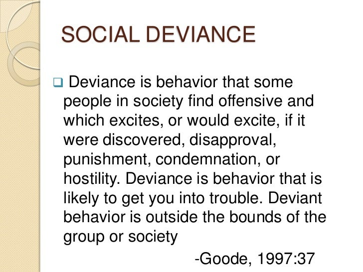social deviance experiment Plan a conversation with someone you know really well, as in talk to them about something you can almost imagine their response to and then initiate this conversation and see what happens then try the same thing late on preferably with the same person.