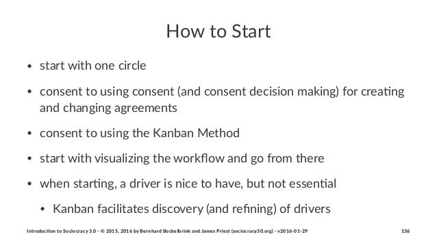 How$to$Start • start&with&one&circle • consent&to&using&consent&(and&consent&decision&making)&for&crea7ng& and&changing&ag...