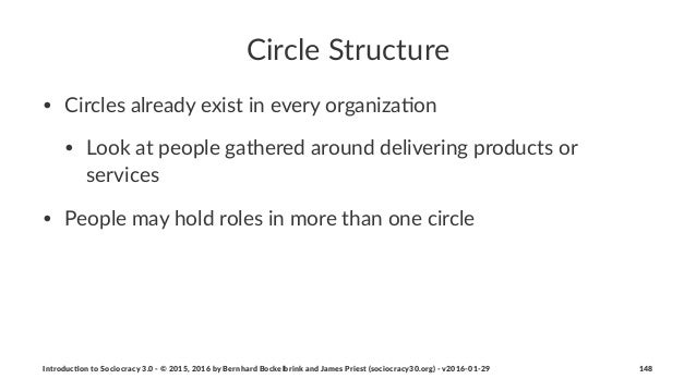 Circle'Structure • Circles)already)exist)in)every)organiza4on • Look)at)people)gathered)around)delivering)products)or) ser...