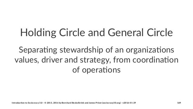 Holding(Circle(and(General(Circle Separa&ng)stewardship)of)an)organiza&ons) values,)driver)and)strategy,)from)coordina&on)...