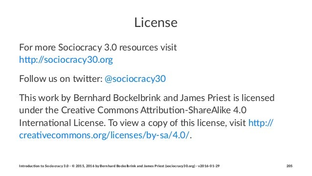 License For$more$Sociocracy$3.0$resources$visit h4p://sociocracy30.org Follow%us%on%twi+er:%@sociocracy30 This%work%by%Ber...
