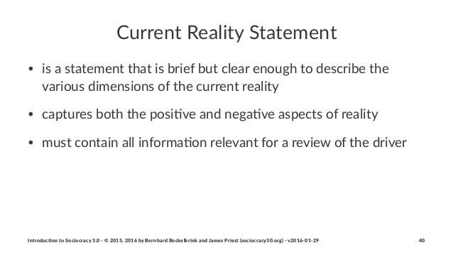 Current'Reality'Statement • is$a$statement$that$is$brief$but$clear$enough$to$describe$the$ various$dimensions$of$the$curre...