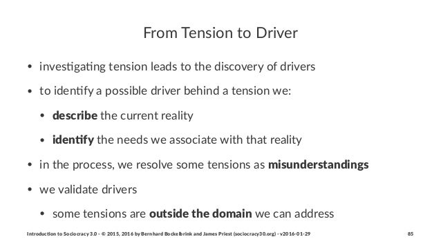 From%Tension%to%Driver • inves'ga'ng*tension*leads*to*the*discovery*of*drivers • to*iden'fy*a*possible*driver*behind*a*ten...