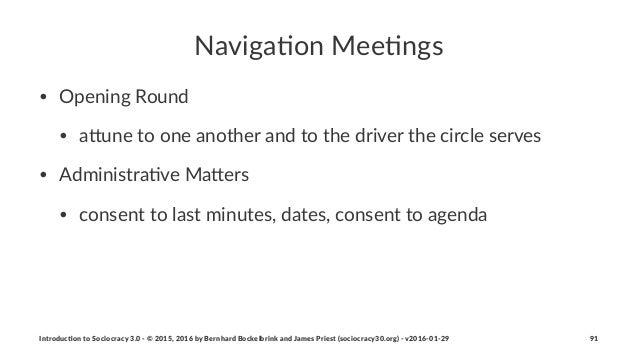 Naviga&on)Mee&ngs • Opening(Round • a.une(to(one(another(and(to(the(driver(the(circle(serves • Administra8ve(Ma.ers • cons...