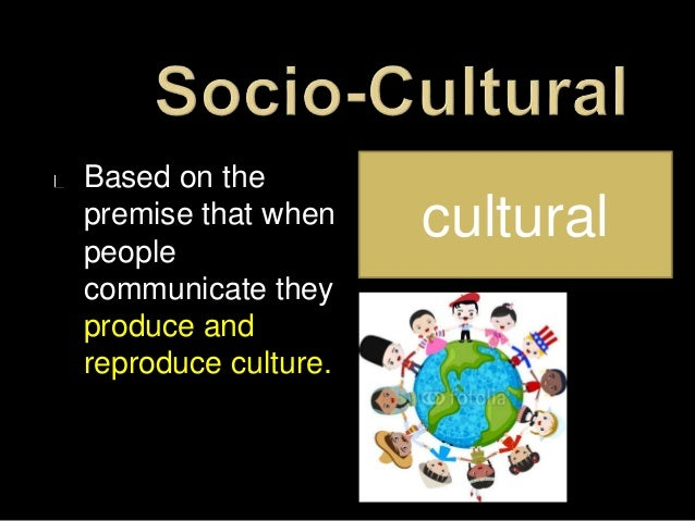 "the sociocultural tradition That's an extremely broad question, so i'll give you a broad, general answer a ""tradition"" is a behavior or belief which is learned rather than."