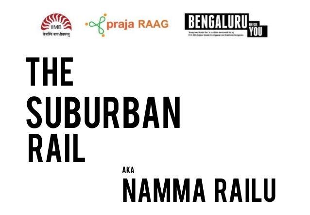 THE  suburban RAIL  aka  Namma Railu