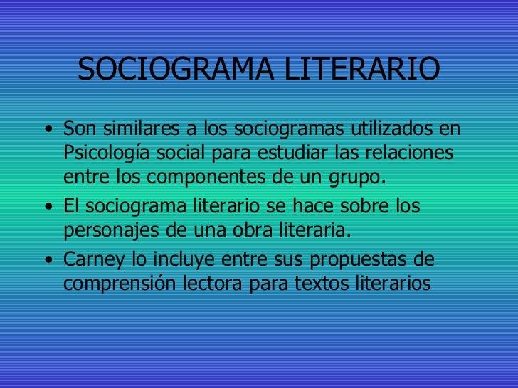 Sociogramas Literarios Slide 2