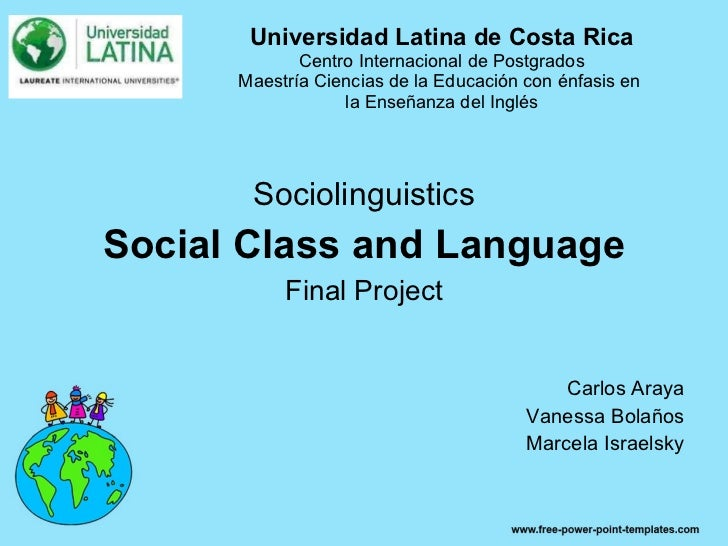 Universidad Latina de Costa Rica Centro Internacional de Postgrados Maestría Ciencias de la Educación con énfasis en  la E...