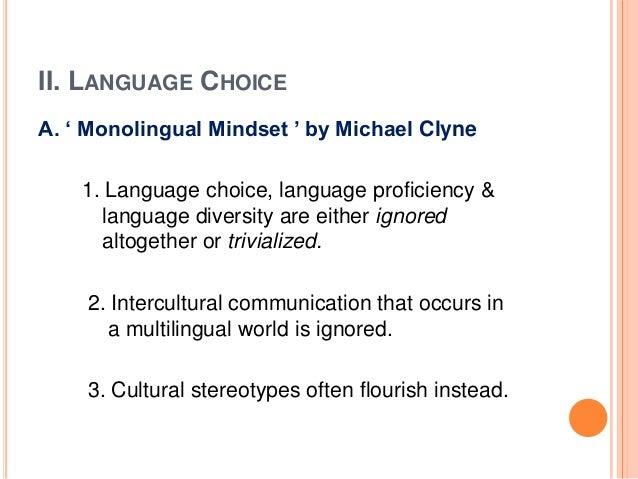 sociolinguistics intercultural communication in a