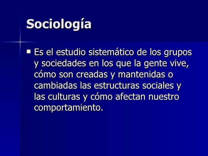 Sociologia #1 Slide 2