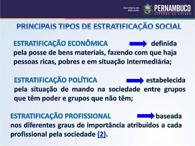 Sociologia princiapais tipos de estratificacao social - Tipos de calefaccion economica ...