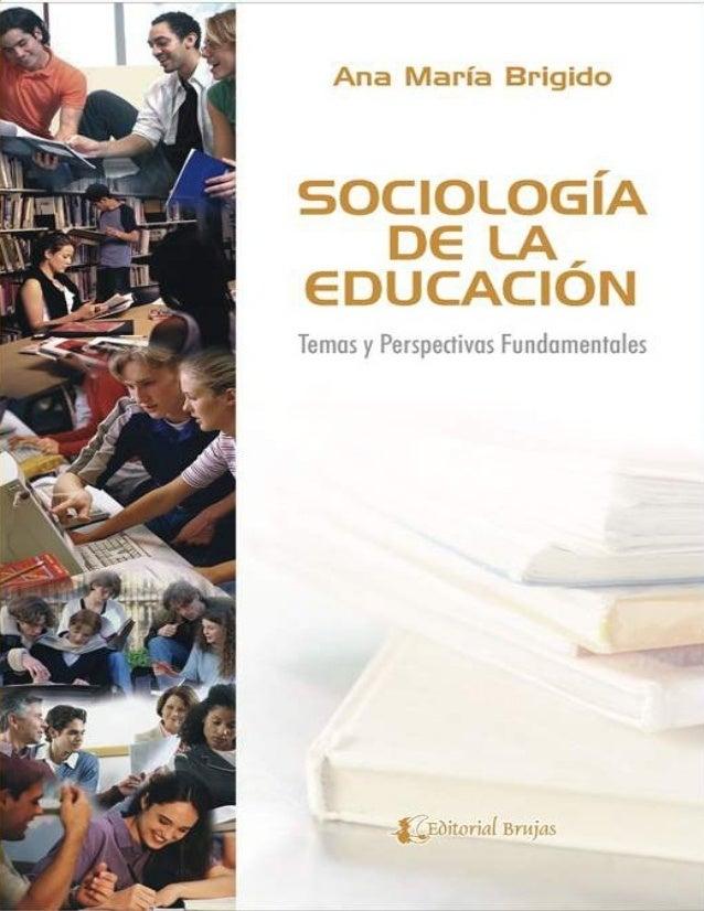 Sociologia de la educacion for Arquitectura para la educacion pdf