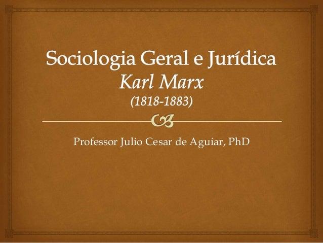 Professor Julio Cesar de Aguiar, PhD
