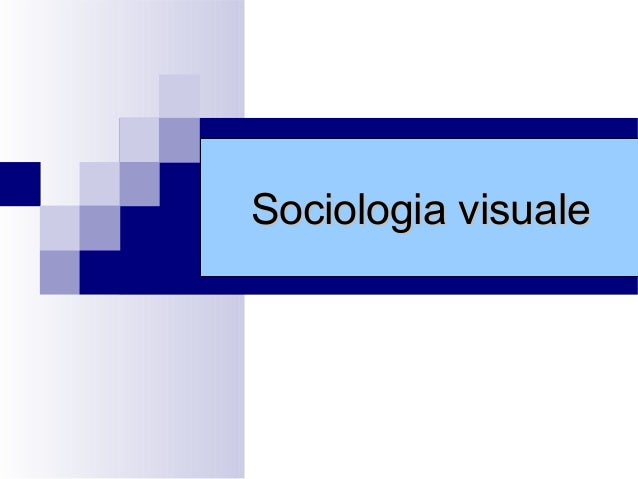 Sociologia visuale