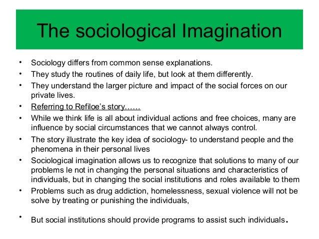 sociological imagination explanation