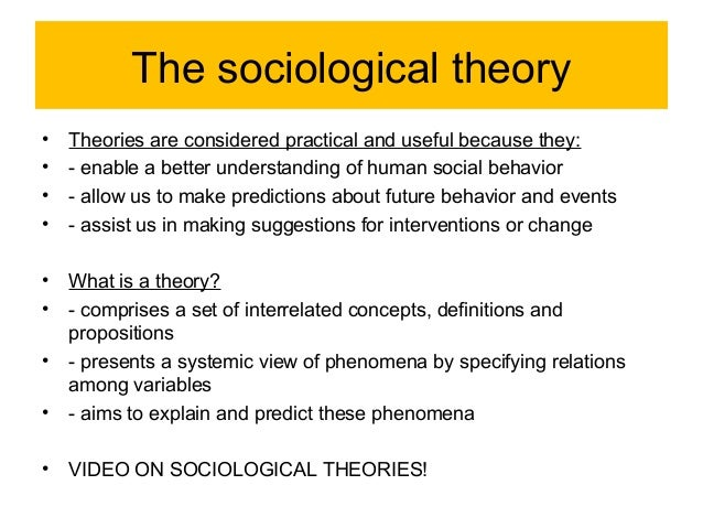 fuctionalism as sociology Introduction it is important to note that functionalism currently has the role of 'straw man' within sociology you build it up to knock it down it is clear that.