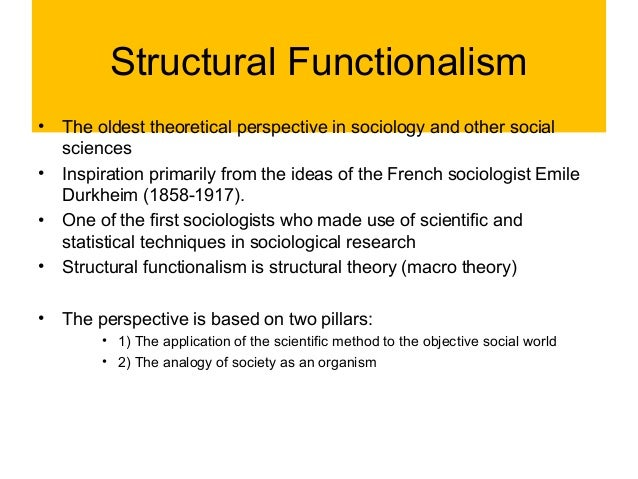 a study on social stratification and the structural functionalist theorist Social stratification depends upon,  and poverty as a structural feature of  the functionalist theory of social inequality holds that stratification exists.